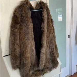Juicy Couture Reversible Fur Coat